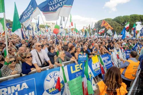 """Orgoglioitaliano"", Řím, Itálide 19. 10 2019"