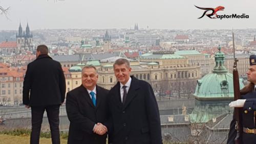 Viktor Orbán v Praze