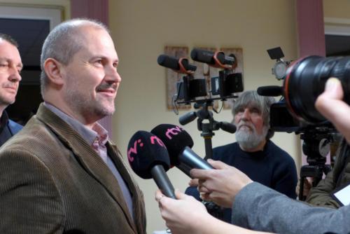Volby Slovensko 2020 - z volebního štábu strany Kotlebovci - LSLN