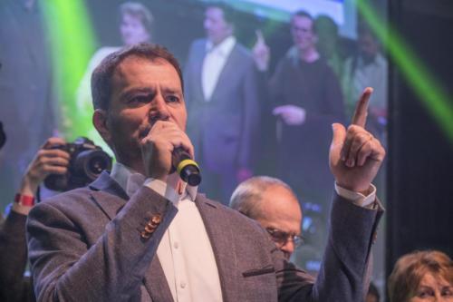 Volby Slovensko 2020 - z volebního štábu strany OLaNO