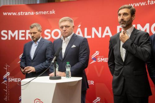 Volby Slovensko 2020 - z volebního štábu strany SMER - SD